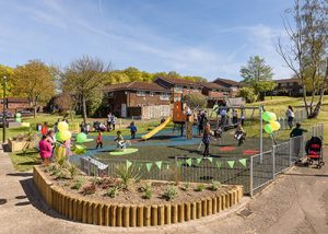 New playground at Stonebridge Court, Broadfield