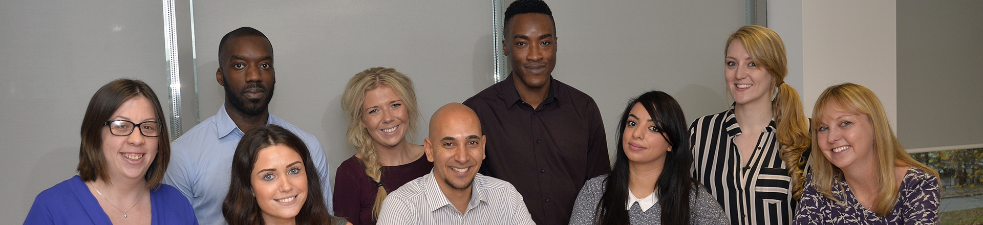 The voids and lettings team