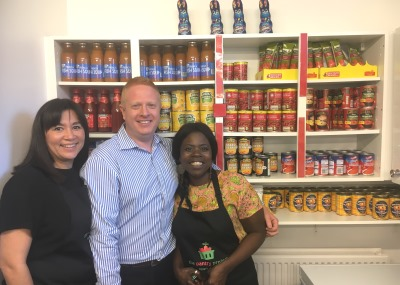 Food pantry opening in Sheffield